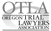 Oregon Trial Lawyers Association - Kevin A. Jones